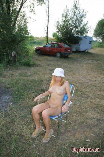 Летние снимки девушек, частное фото