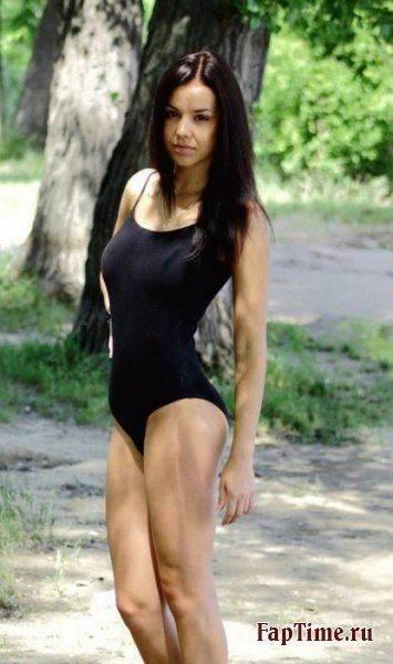 Анастасия Сальченко,морж-нудист