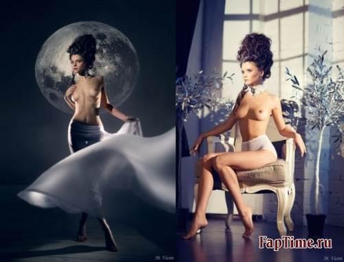 Русская модель Kris Strange.