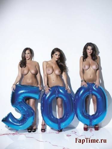 500-й выпуск Nuts c Lucy Pinder, Rosie Jones, Holly Peers...