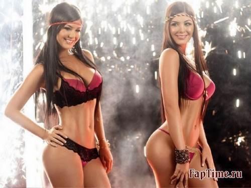 Сёстры Davalos, сексуальные близняшки